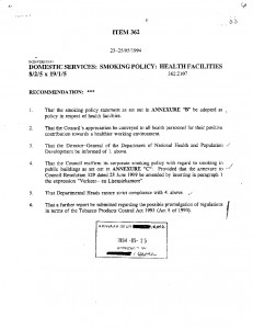 Edenvale-No-smoking-Council-resolution-363-dated-25-May-1994