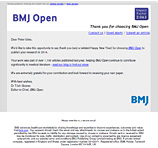 British Medical Journal - Peter Ucko